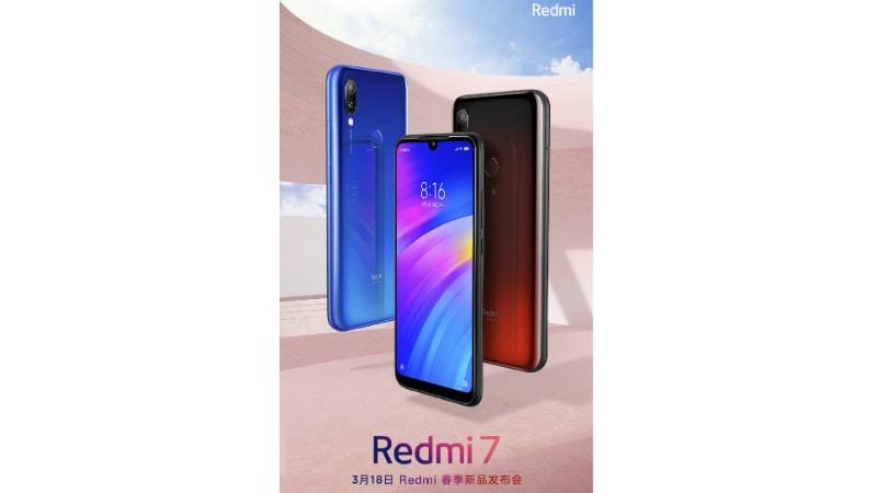 redmi 7 launch date weibo lu weibing Redmi 7