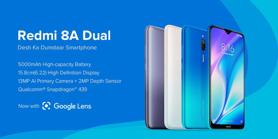 Redmi 8A Dual Price in India Starts at Rs. 6,499, Redmi Powerbank Launched as Well: Event Highlights