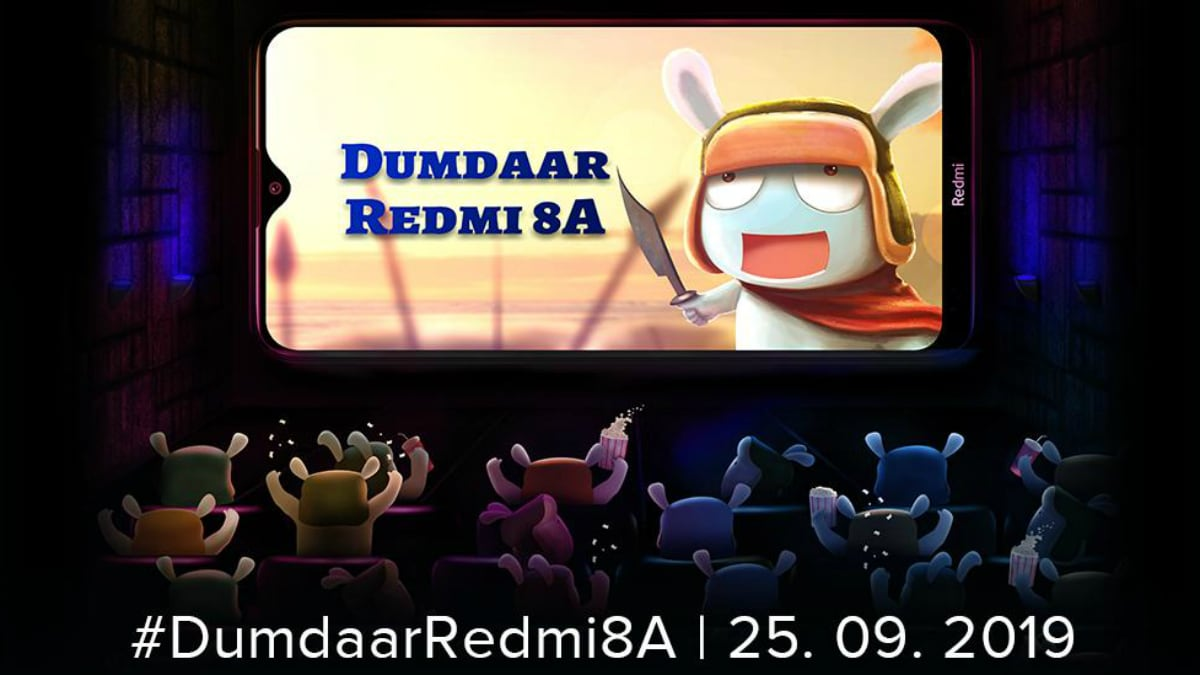 Redmi 8A India Launch Set for September 25: Expected Price, Specifications