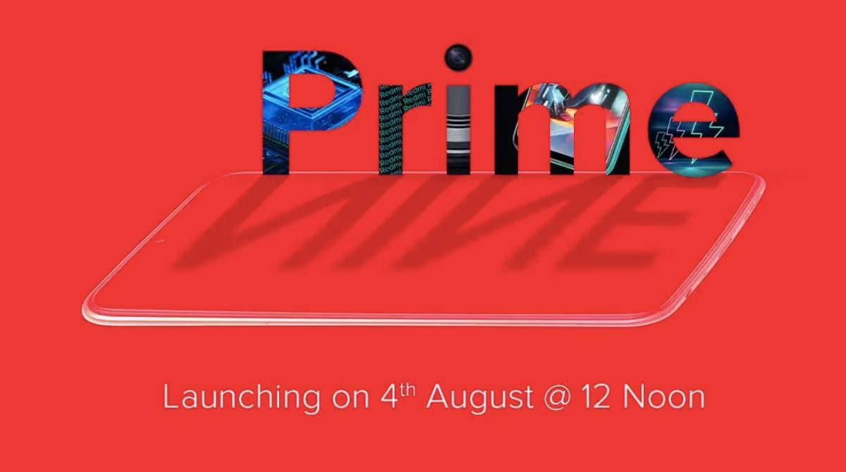 Redmi 9 Prime Launch on August 4: Here's What We Expect