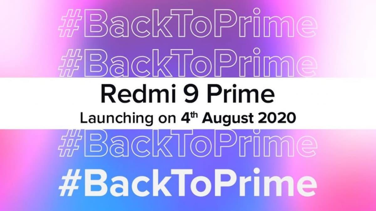 Redmi 9 Prime ஆகஸ்ட் 4 ஆம் தேதி அறிமுகம்... முழு விவரங்கள்!