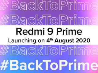 Redmi 9 Prime India Launch Set for August 4, Xiaomi Teases Splash-Proof Build