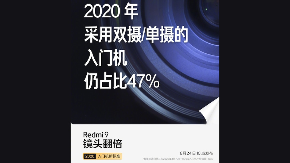 Redmi 9 Variant to Launch in China June 24, May Come in Different Configurations and Colours