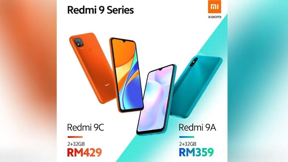 Redmi 9A और Redmi 9C लॉन्च, 5,000 एमएएच बैटरी से हैं लैस