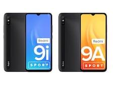 Redmi 9i Sport, Redmi 9A Sport Smartphones Launched in India