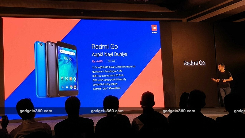 redmi go india launch event gadgets 360 redmi
