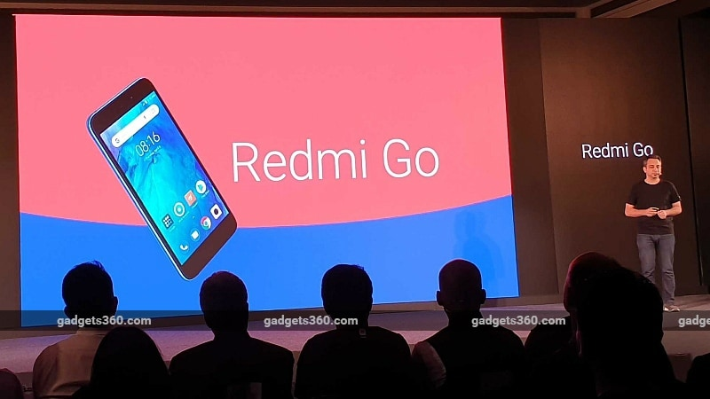 Redmi Go Android Go Smartphone With 3,000mAh Battery Launched in India: Price, Specifications