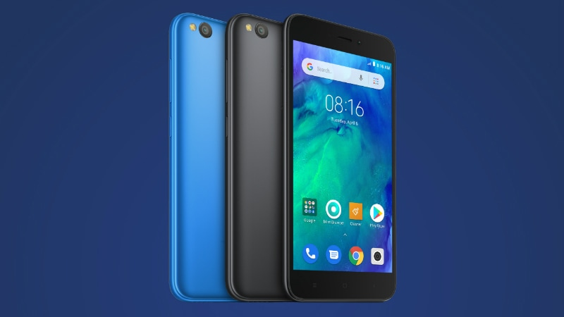 Redmi Go With Android 8.1 Oreo (Go edition) Set to Launch in Philippines as Xiaomi's First Android Go Phone; Specifications Revealed