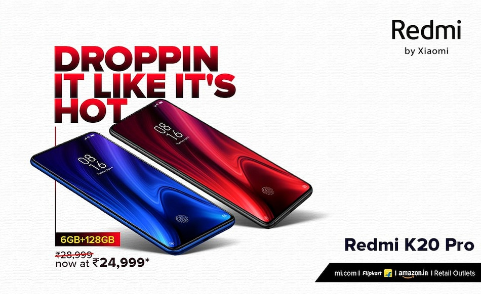 Redmi K20 Pro 6GB RAM Model Gets a Promotional Pricing in India, Now Available at Rs. 24,999