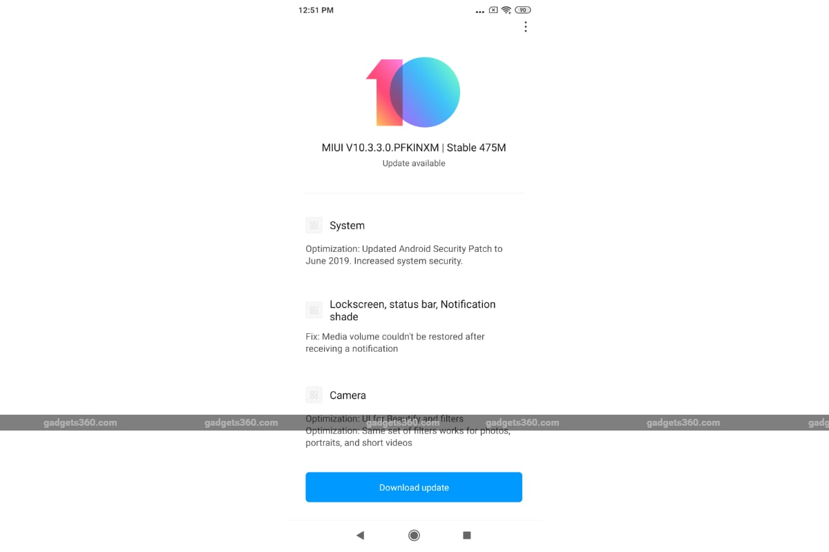Redmi K20 Pro Starts Receiving MIUI 10 3 3 0 Update in India