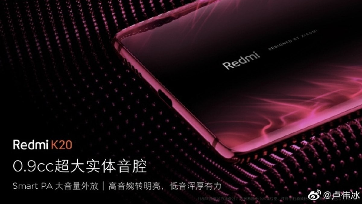 Redmi K20 Pro Price, New Image Leak; Powerful Loudspeaker Teased Ahead of May 28 Launch