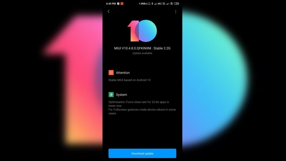 Redmi K20 Pro Starts Receiving Stable Android 10-Based MIUI 10 Update in India: Reports