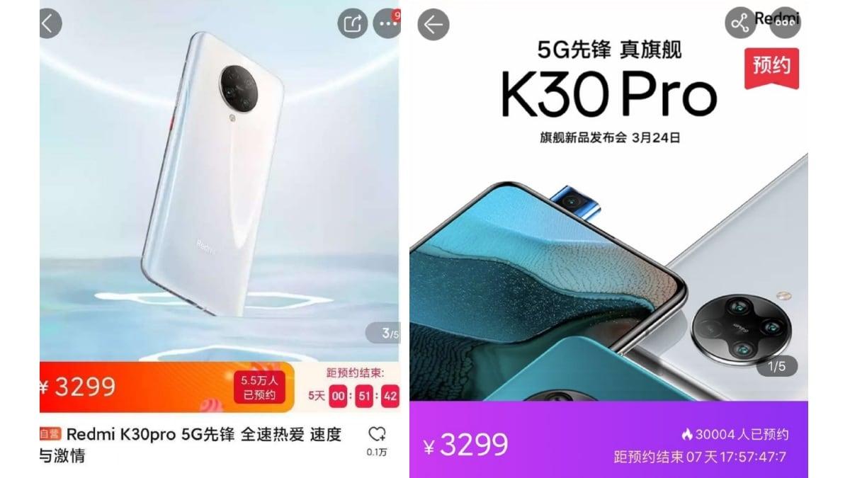 redmi k30 pro price Redmi K30 Pro