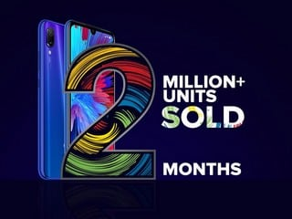 Redmi Note 7, Redmi Note 7 Pro Cross 2 Million Sales Mark in India; New Phone With 48-Megapixel Camera Teased