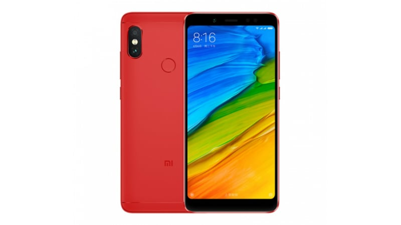 Xiaomi Redmi Note 5 Flame Red Edition Launched in China: Price, Specifications
