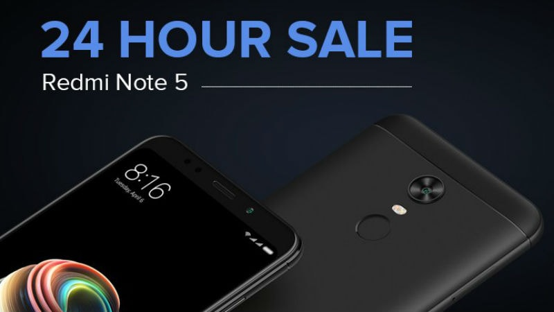 Redmi Note 5 24-Hour Sale on Mi.com Tomorrow