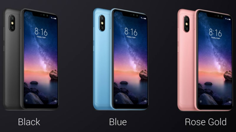 Xiaomi Redmi Note 6 Pro With Four Cameras, Display Notch Launched: Price, Specifications, Features