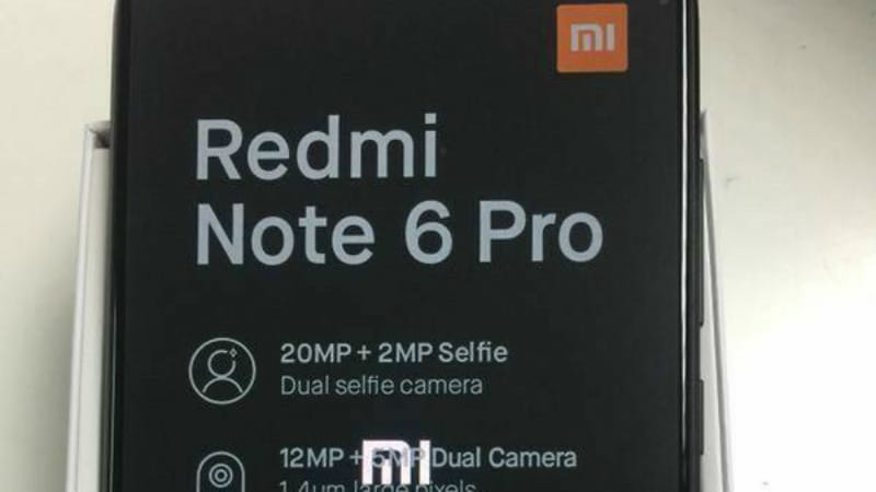 Xiaomi Redmi Note 6 Pro Specifications Tipped in Leaked Live Images