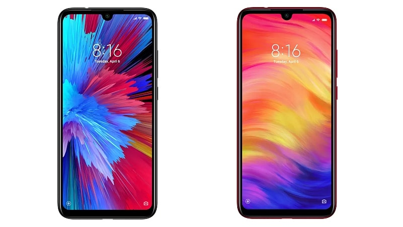 Redmi Note 7 Pro, Redmi Note 7 to Go on Sale in India Today via Flipkart, Mi.com: Price, Specifications, Offers