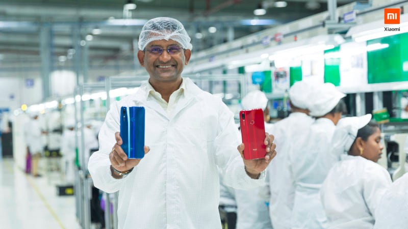redmi note 7 pro make in India Make in India