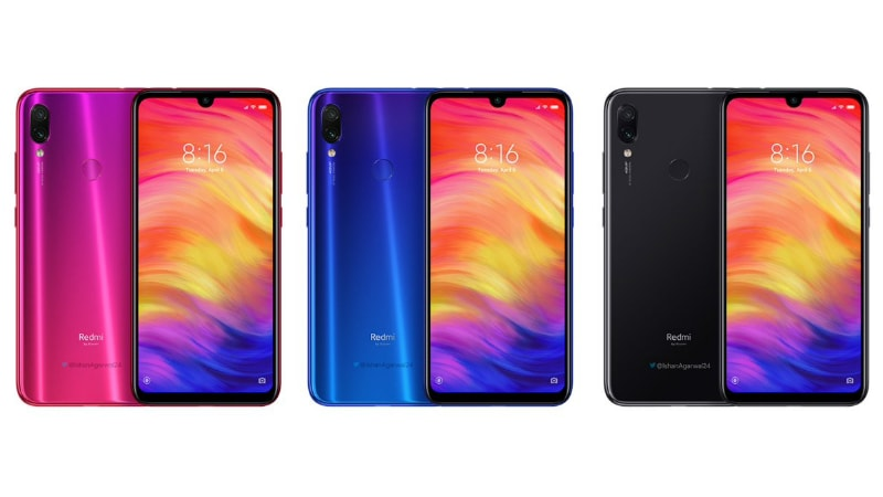 Redmi Note 7 Pro Renders Leak, Rumoured to Launch in India With Redmi Note 7 on February 28
