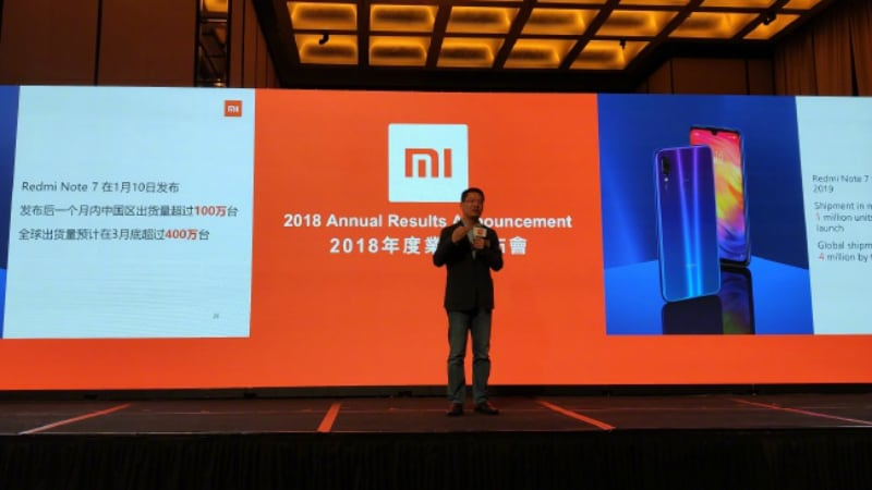 redmi note 7 pro sales projection weibo lei jun Redmi Note 7 Pro Redmi Note 7