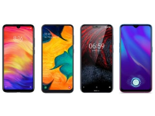 Redmi Note 7 Pro vs Samsung Galaxy A30 vs Nokia 6.1 Plus vs Oppo K1: Price, Specifications Compared