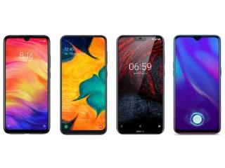 Redmi Note 7 Pro, Samsung Galaxy A30, Nokia 6.1 Plus और Oppo K1 में कौन बेहतर?