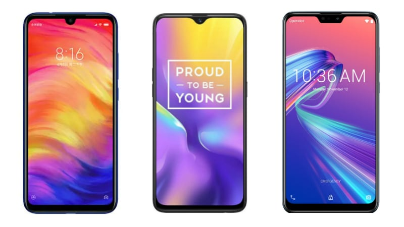 Redmi Note 7 vs Realme U1 vs Asus ZenFone Max Pro M2: Price, Specifications Compared