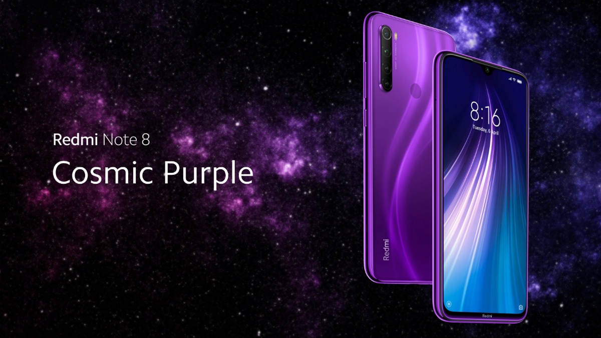 Redmi Note 8 Cosmic Purple Colour Option Teased To Launch In India Soon Technology News