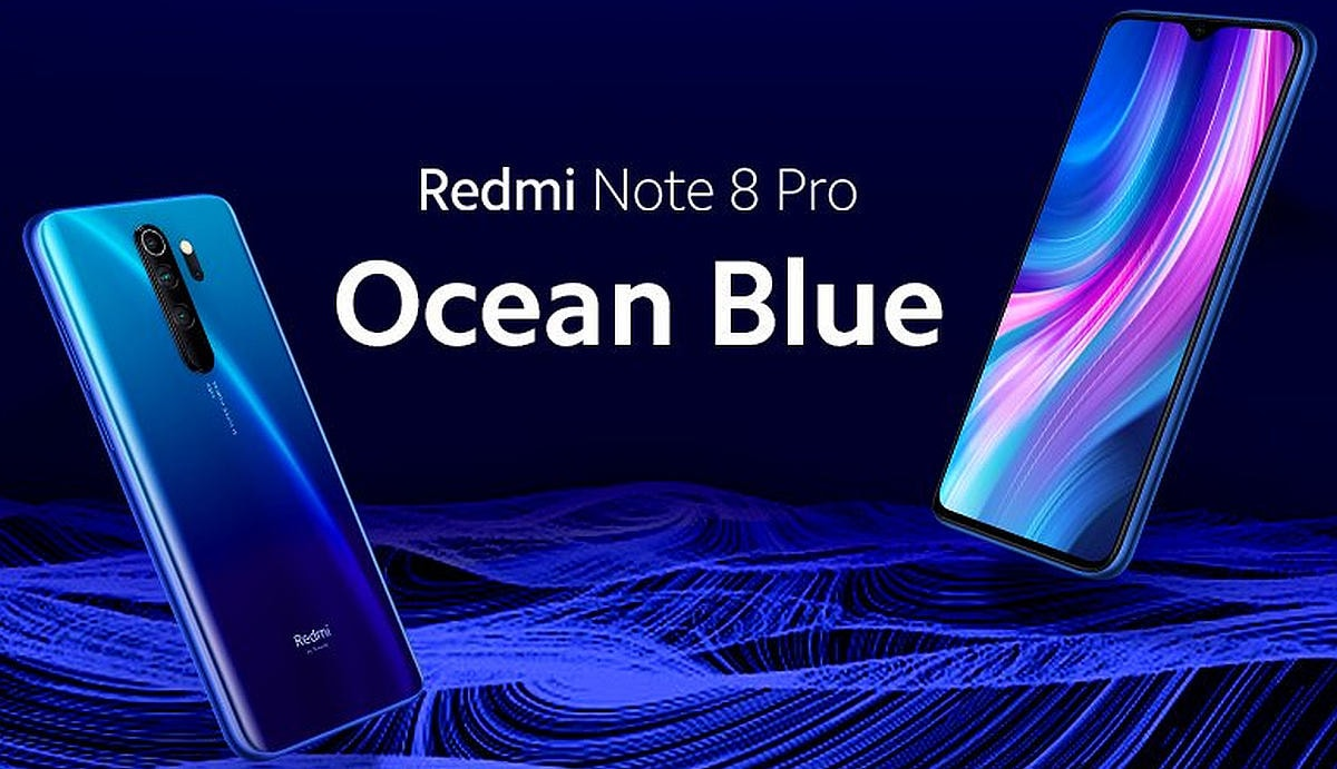 Redmi Note 8 Pro Ocean Blue Colour Variant to Launch in India Tomorrow, Xiaomi Teases