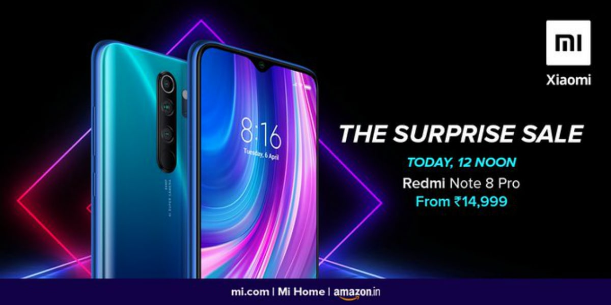 Redmi Note 8 Pro To Go On Sale Today At 12 Noon Via Amazon Mi Com Check Price In India Specifications Technology News