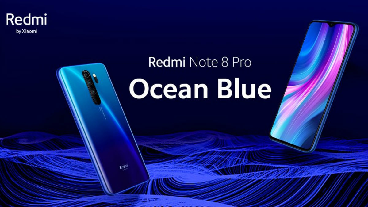 Redmi Note 8 Pro Ocean Blue Colour Variant Announced by Xiaomi