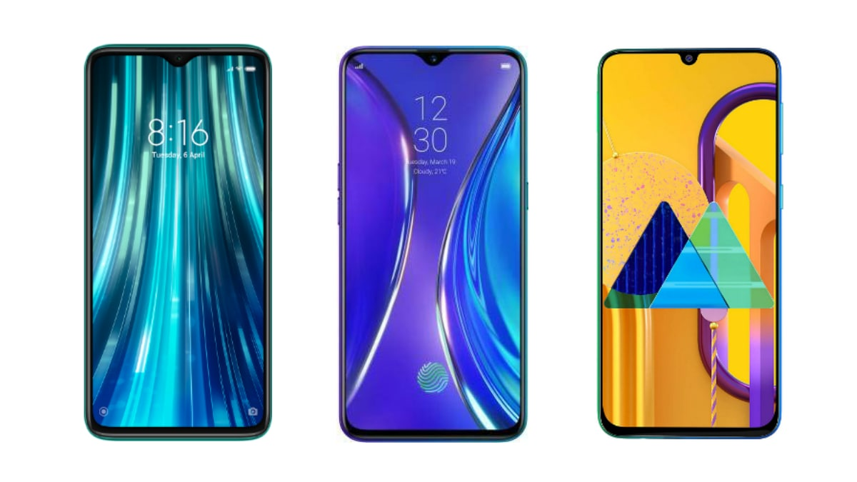 Redmi Note 8 Pro vs Realme XT vs Samsung Galaxy M30s: Price in India, Specifications Compared