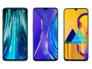 Redmi Note 8 Pro vs Realme XT vs Samsung Galaxy M30s: Price in India, Specifications Compared