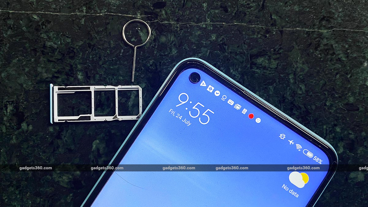 redmi note 9 SIM tray gadgets360 Redmi Note 9 Review