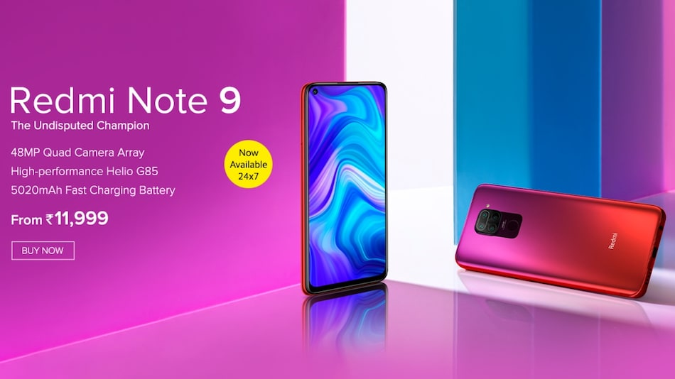 Redmi Note 9 Goes On Open Sale In India Via Mi Com Price Specifications Technology News