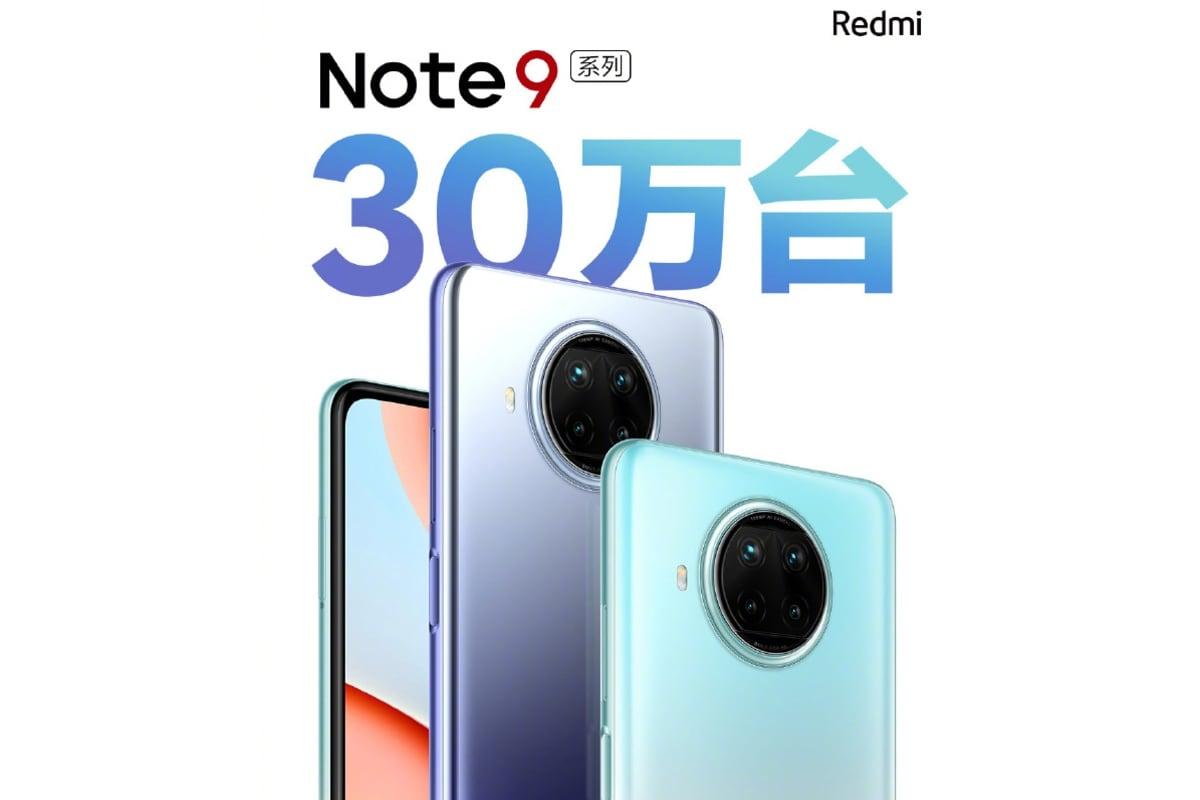 redmi note 9 series china sales record weibo Redmi Note 9