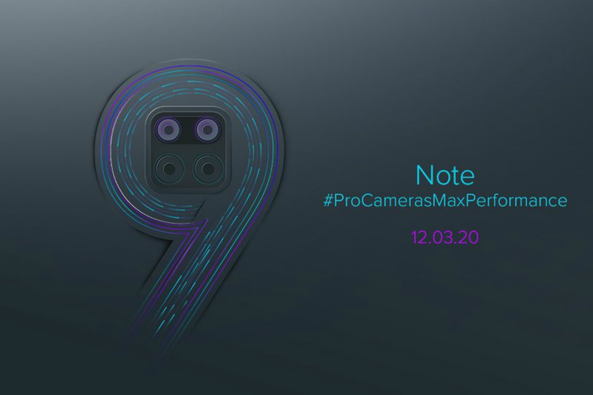 Redmi Note 9 India Launch Date Set for March 12, Teased to Debut With Quad Rear Cameras