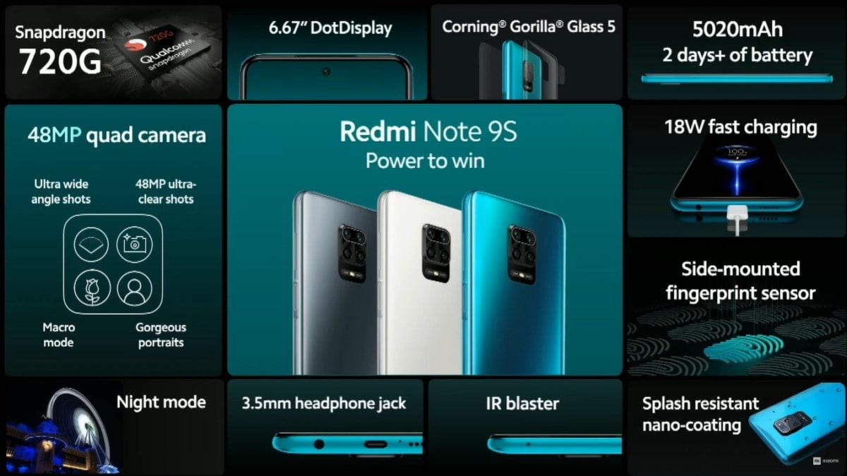 redmi note 9s body Redmi Note 9S