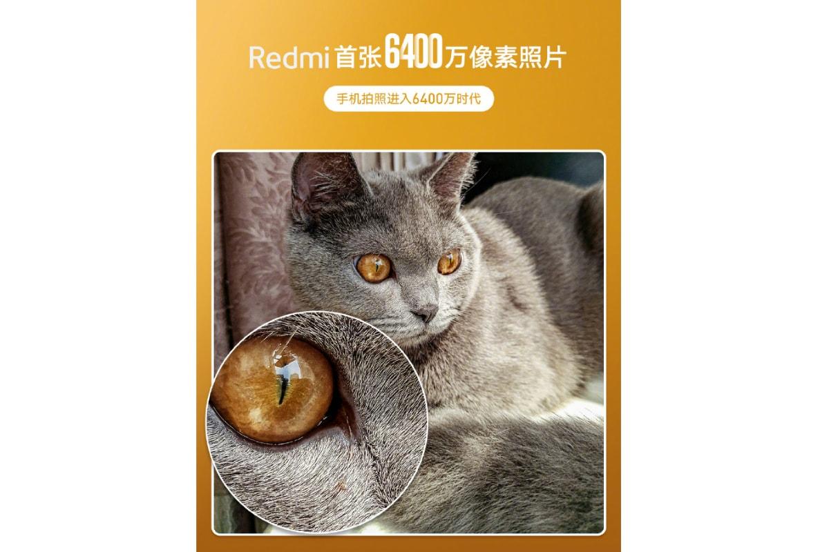 redmi phone 64 megapixel camera teaser weibo Redmi
