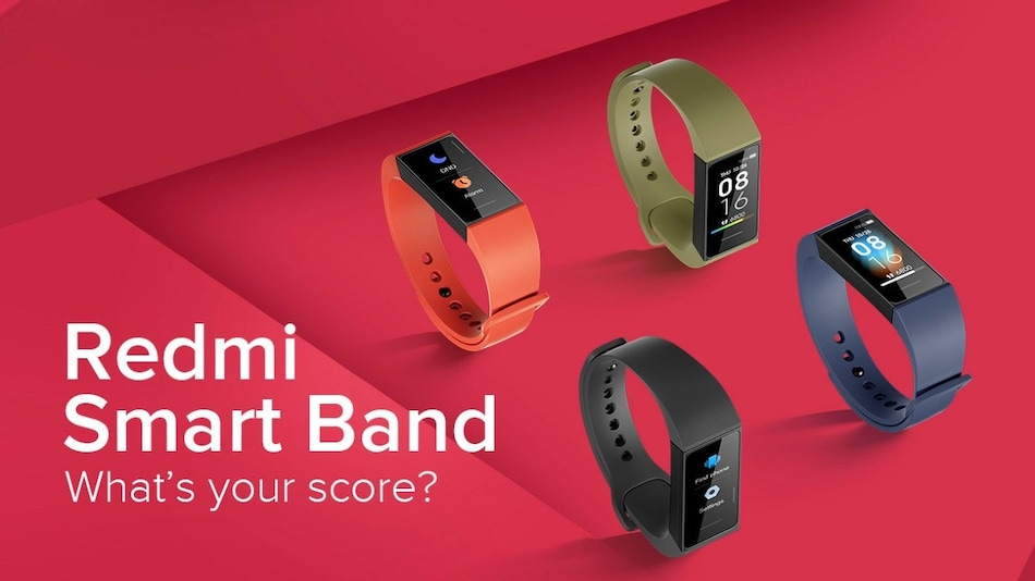 Redmi Smart Band With Colour Display, Heart-Rate Monitor Launched in India