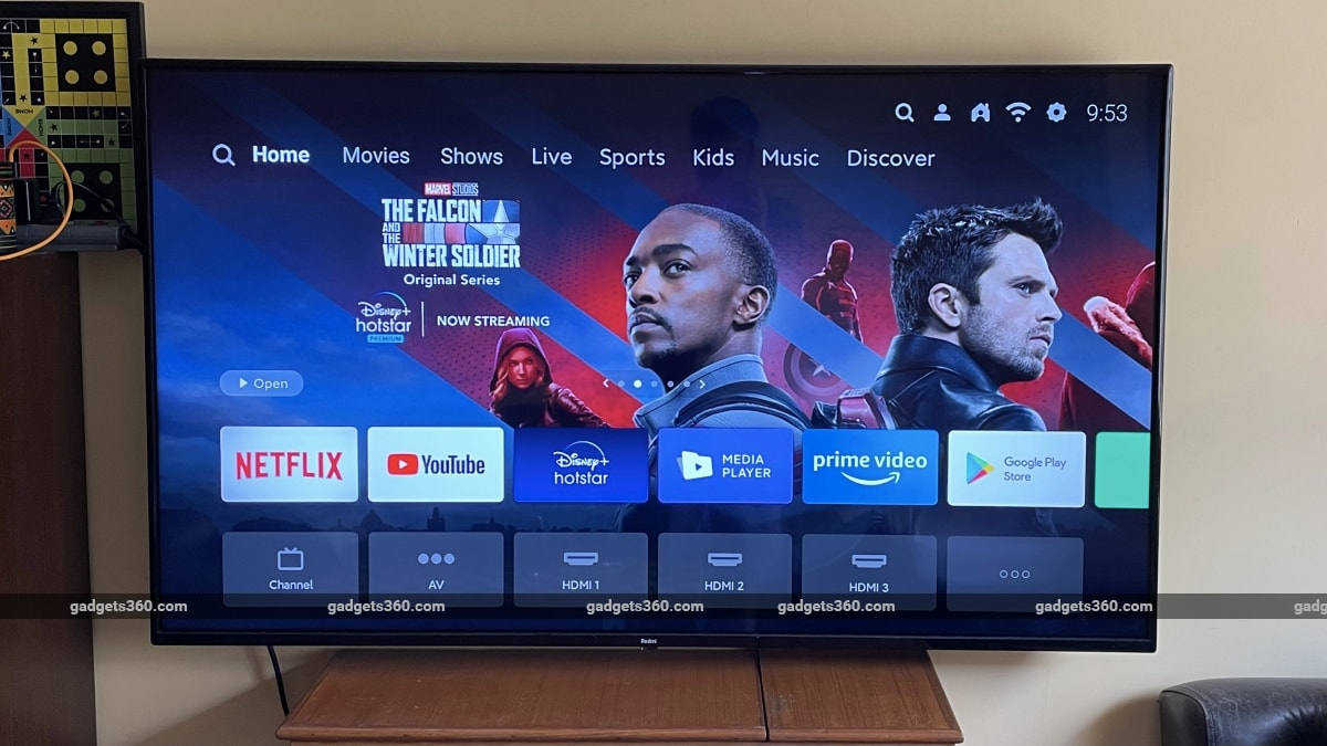 redmi smart tv x55 review patchwall Redmi