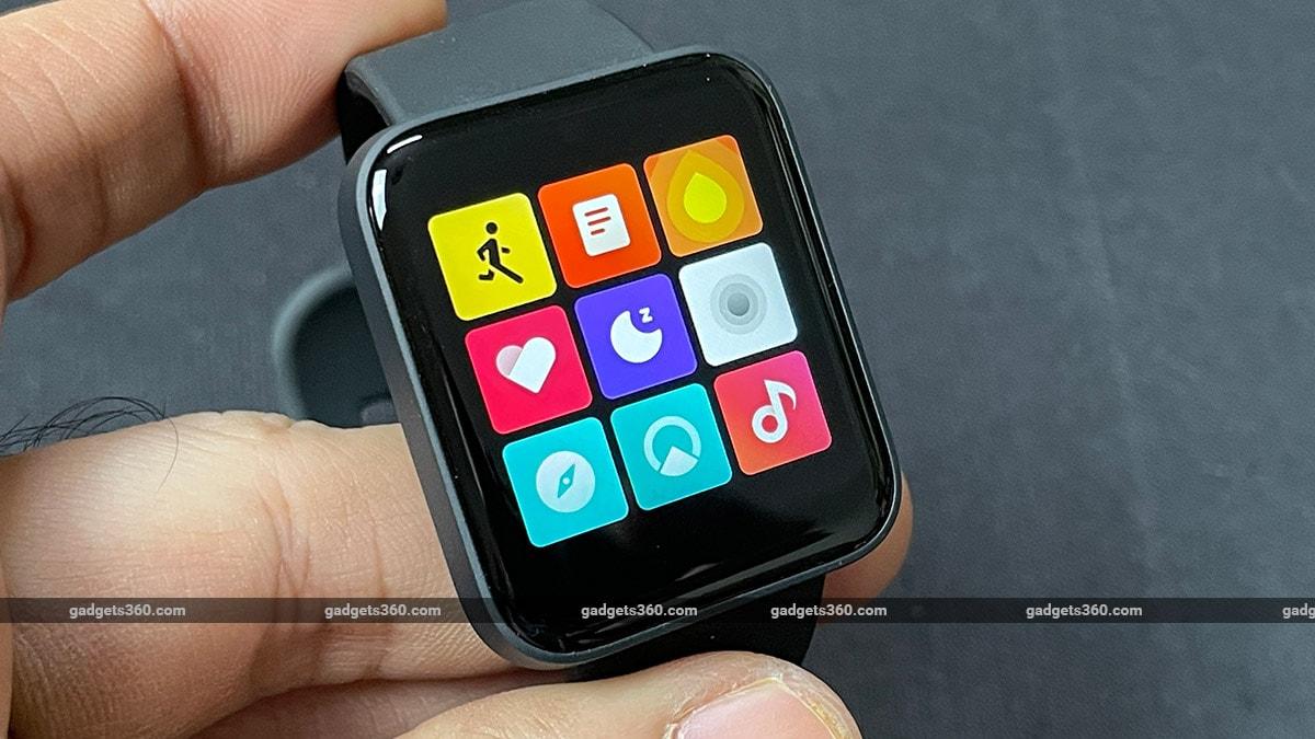 Redmi वॉच ऐप्स गैजेट्स360 Xiaomi Redmi Watch Review