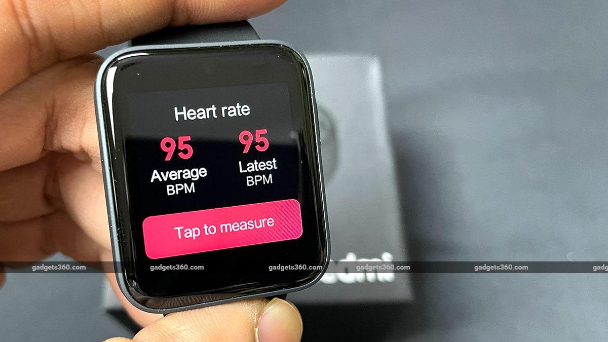 redmi واچ دل کی شرح gadgets360 Redmi واچ پہلا تاثرات