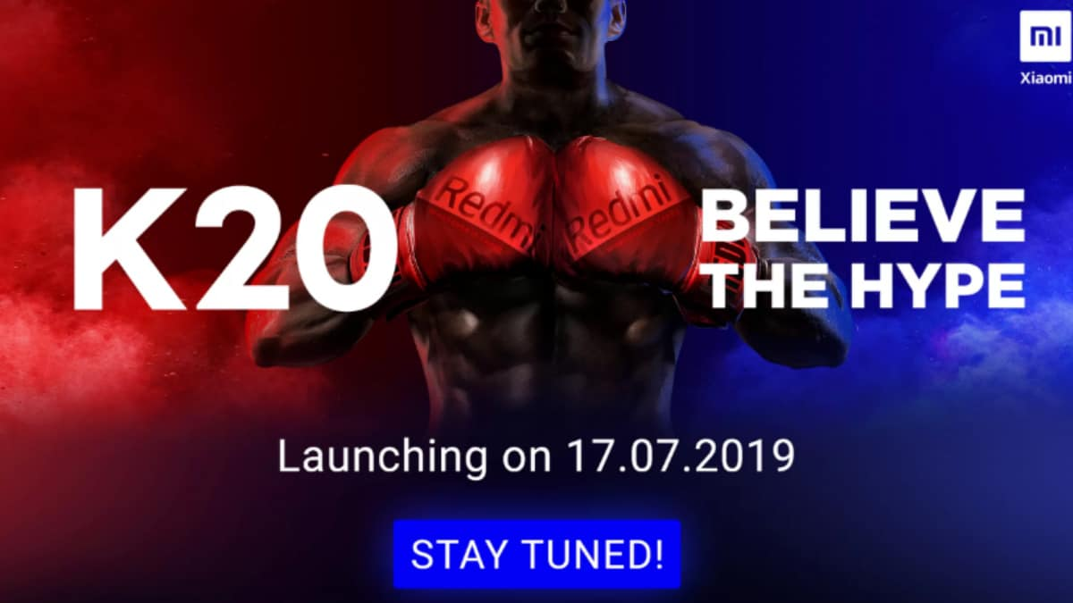 Redmi K20 Flipkart Teaser Released Ahead of India Launch, Redmi K20 Pro Expected Alongside
