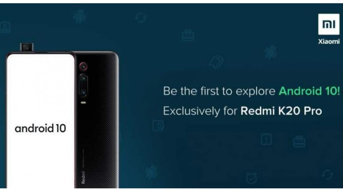Redmi K20 Pro Android 10 Beta Programme Announced in India, Registrations Open Till September 8