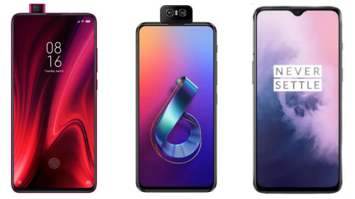 Redmi K20 Pro vs OnePlus 7 vs Asus 6Z: Price in India, Specifications Compared