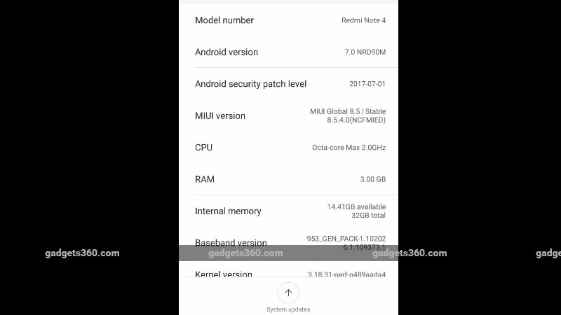 Xiaomi Finally Rolls Out Nougat Update To The Redmi Note 4: Xiaomi Redmi Note 4 Starts Receiving Android 7.0 Nougat