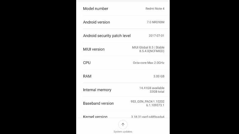 Android Nougat update now available for the Xiaomi Redmi Note 4 smartphones